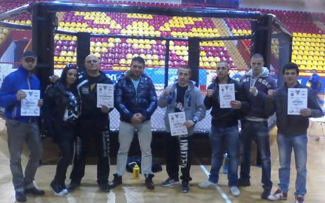 Кумановски кик боксери со одлични резултати во Охрид