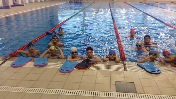 """Пливачите на """"Аква"""" со одлични резултати на Државното училишно првенство"""