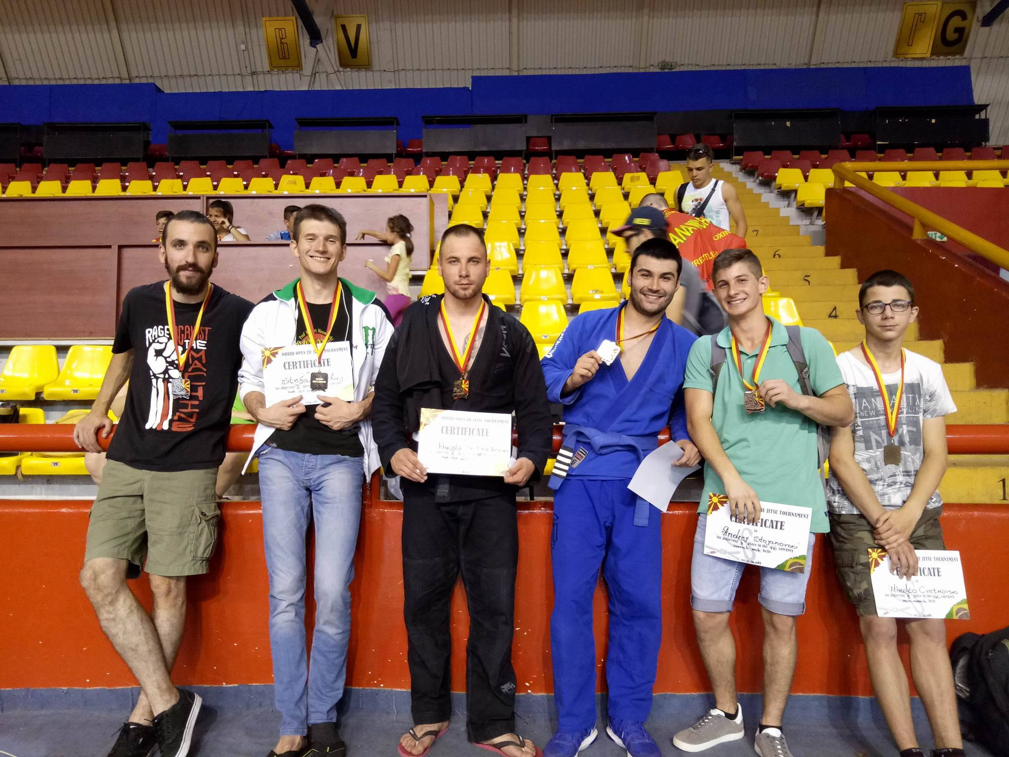 Кумановци со шест медали на отвореното првенство во Џиу-џица