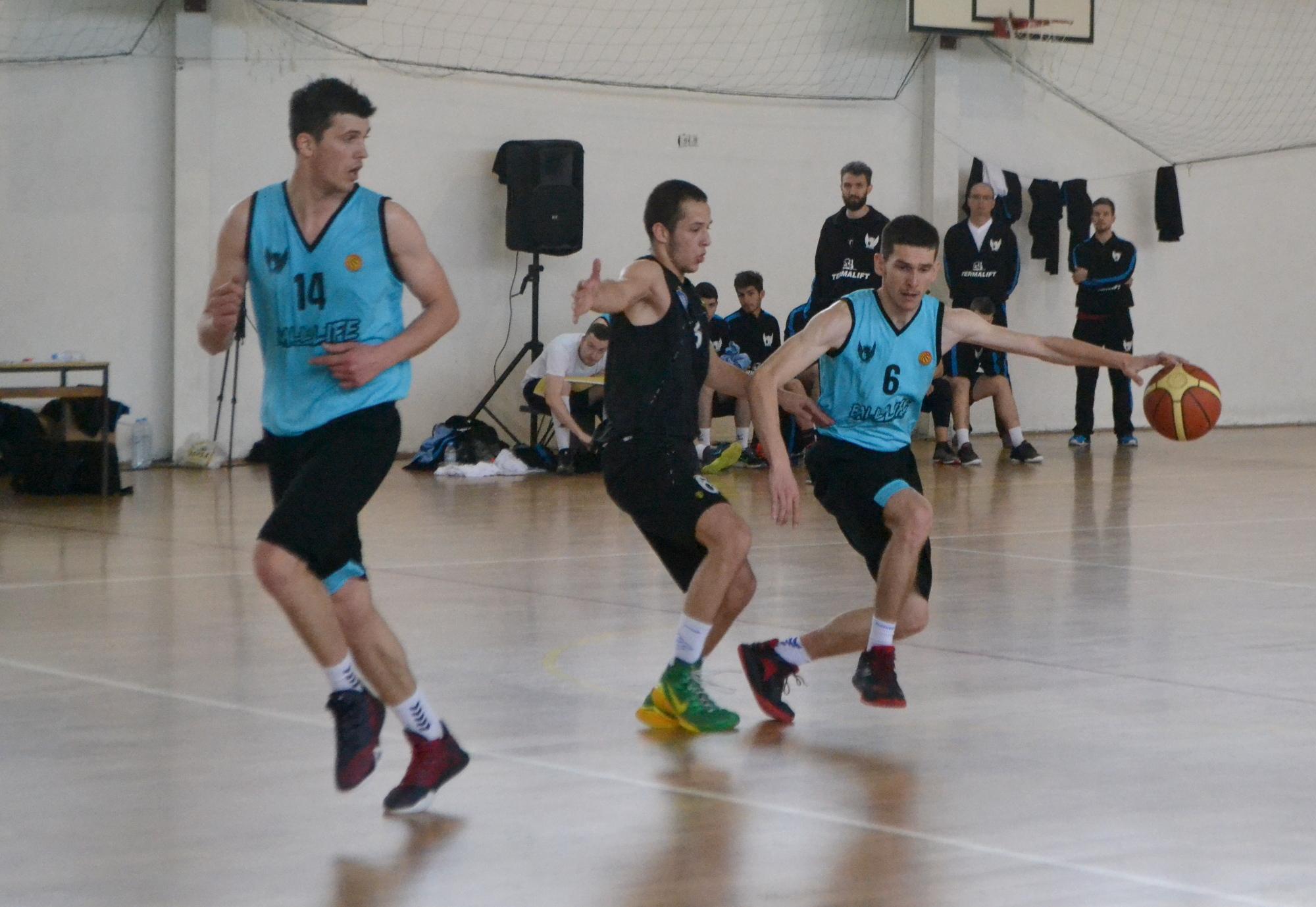 Играч на Бал фор Лајф на список на Македонската кошаркарска репрезентација