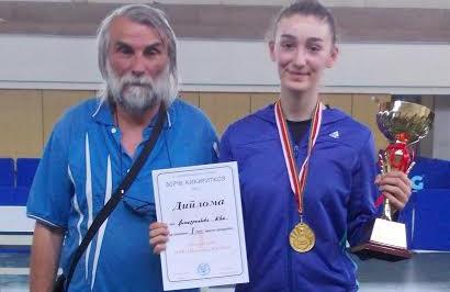 Нова победа на пингпонгарката Ива Димитриевска
