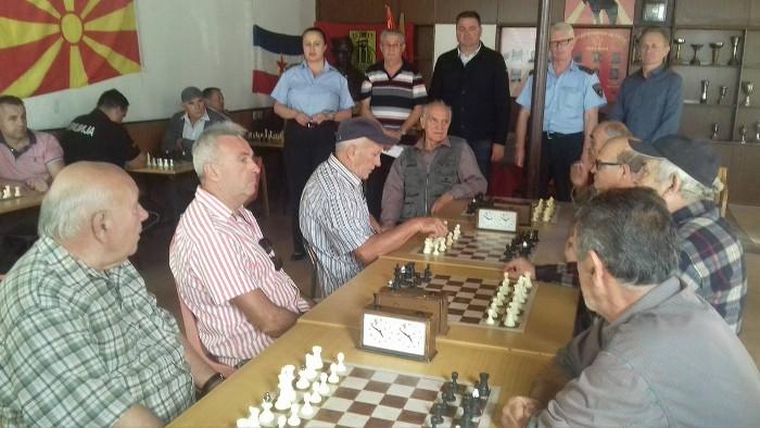 Шаховски турнир во организација на СВР Куманово