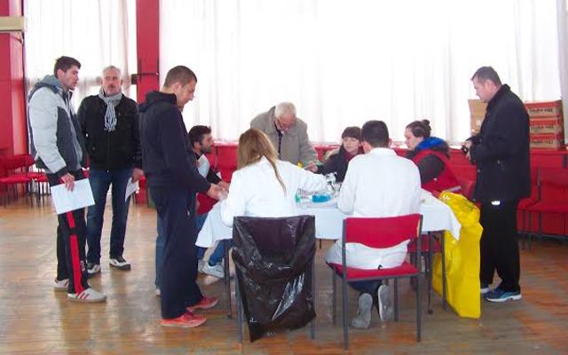 Охридска банка организира крводарителска акција во Куманово