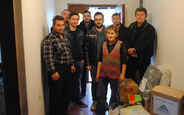 ЛДП однесе помош на семејството Арсовски