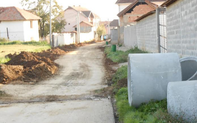 Се гради канализациона мрежа во Матејче