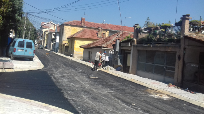"Се асфалтира улицата ""Среќко Пужаљка"""