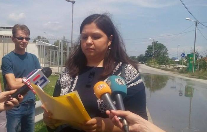 """ВМРО-ДПМНЕ: Вештачко езеро го """"краси"""" влезот на Куманово"""