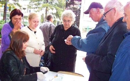 Откриени нови заболени од дијабетес во Липково