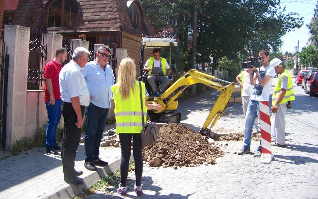 Продолжува реконструкцијата на канализационата мрежа во градот