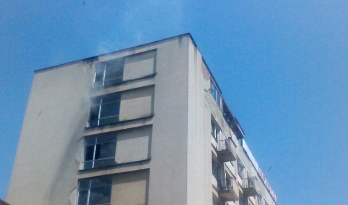 Се запали хотел Кристал