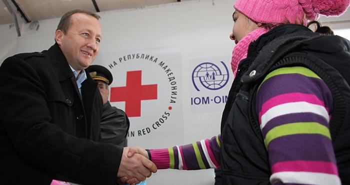 Министерот Нухиу го посети транзитниот центар Табановце