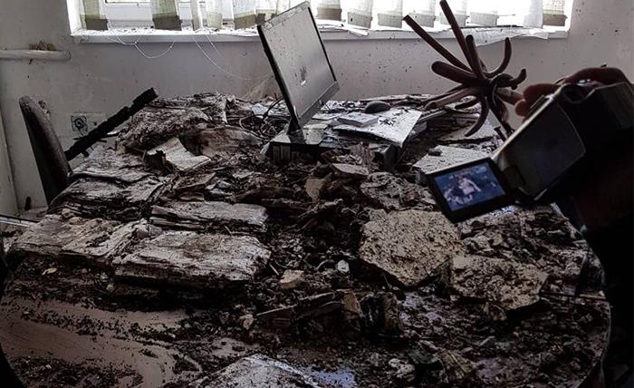 Изгоре дел од документација на Управата за имотно-правни работи во Куманово