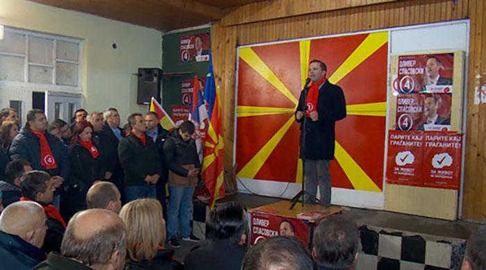 Спасовски потпретседател, Димитриевски член на извршниот одбор на СДСМ