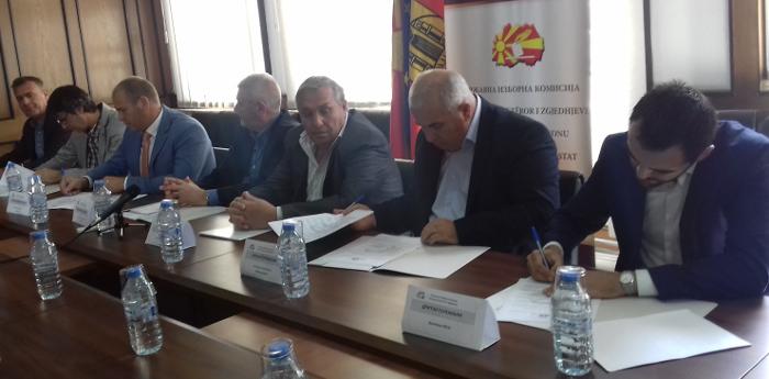 Кандидатите за градоначалник го потпишаа Кодексот за фер и демократски избори