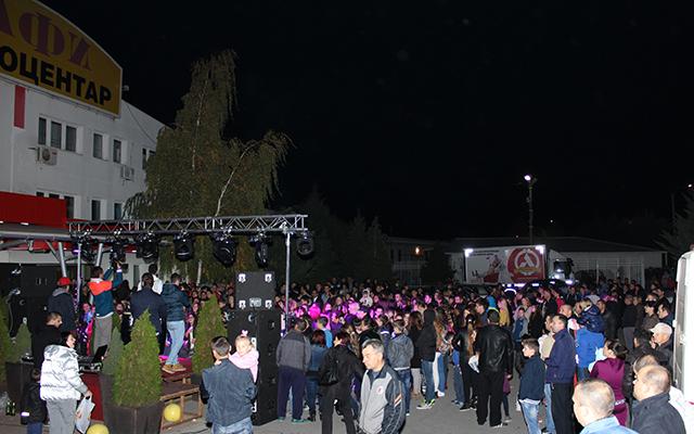 Спектакуларна журка на роденденот на Алфи Техноцентар