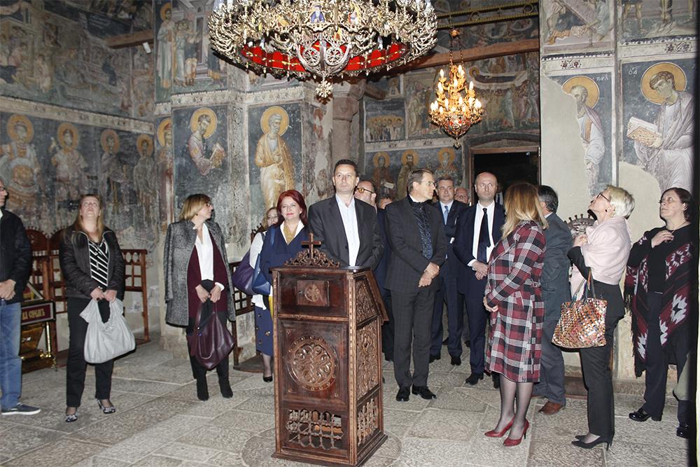 """Од """"Свети Ѓорѓи"""" започна одбележувањето на Европска година на културно наследство"""