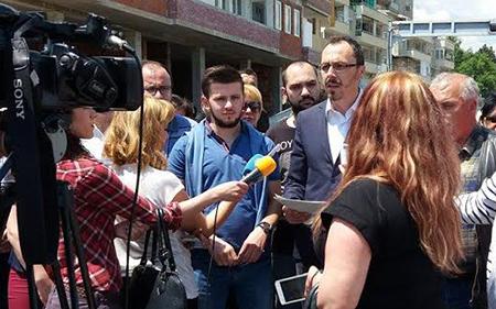 ВМРО-ДПМНЕ:Да се реши сообраќајниот хаос во градот