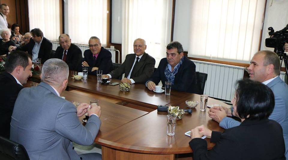 Поранешните градоначалници на прием кај Димитриевски