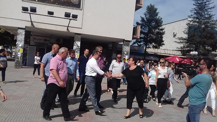 Груевски во посета на Куманово