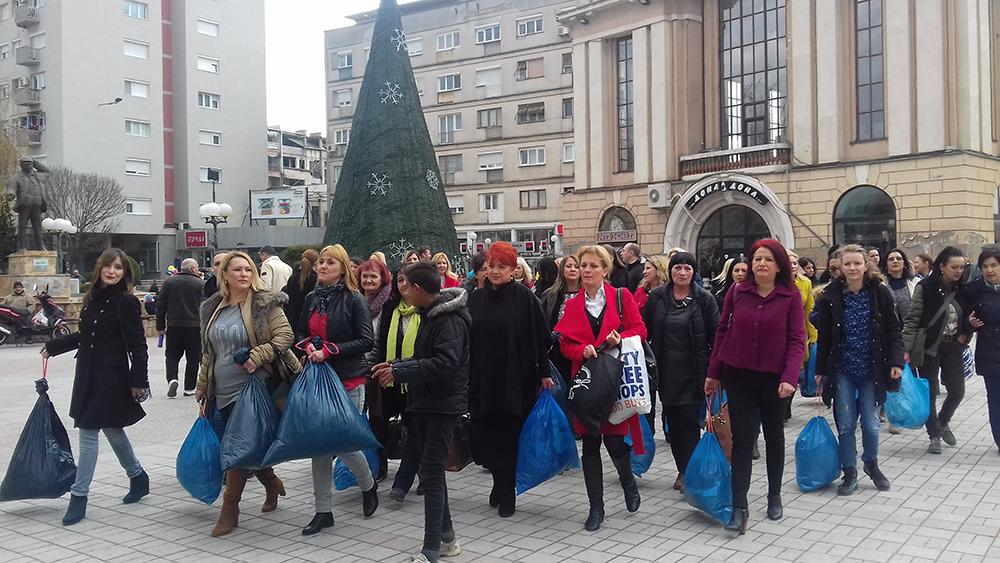 Хуманитарна акција на Форумот на жени на СДСМ