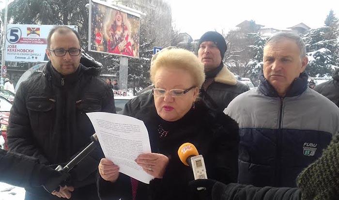 ВМРО-ДПМНЕ:Договорот за чистење на улиците потпишан пред 5 дена