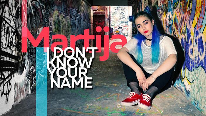 """""""Не го знам твоето име"""" нова песна на Мартија"""